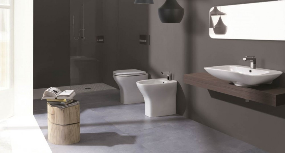 senior comfort height floor standing toilet pan