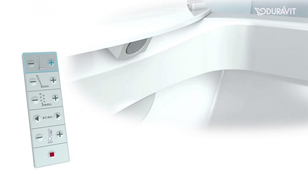 Duravit Sensowash 174 Slim Shower Toilet Seat Model No