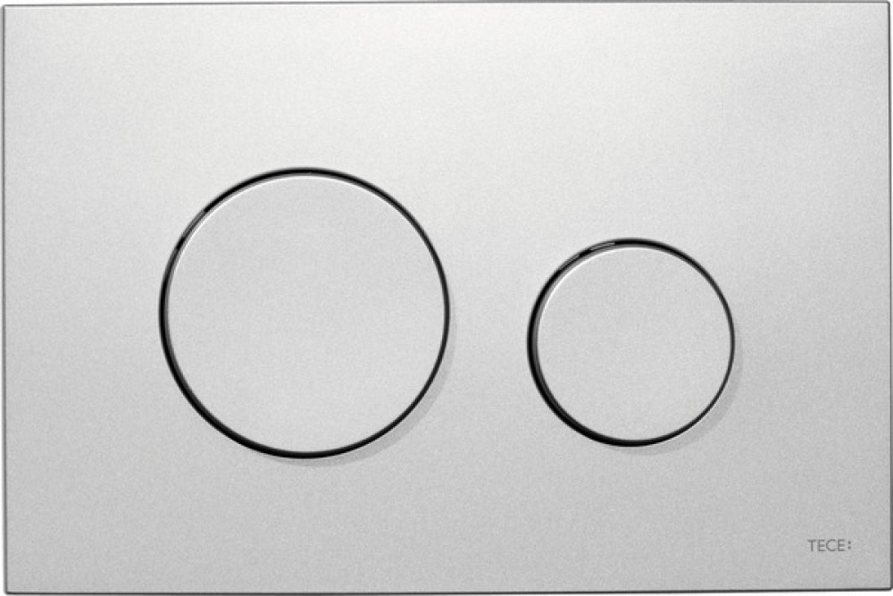 TECE loop toilet flush plate system mat chrome 9240625