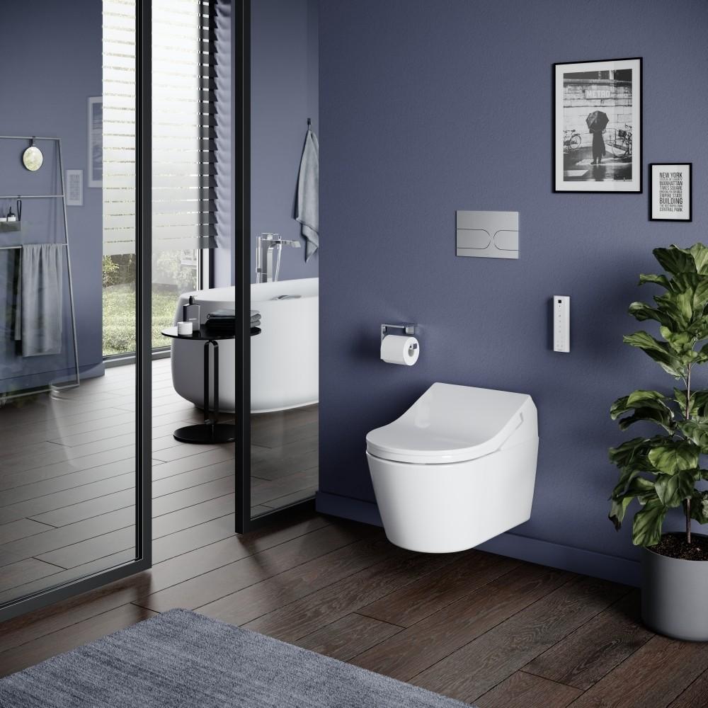 toto washlet rx ewater+ automatic flushing