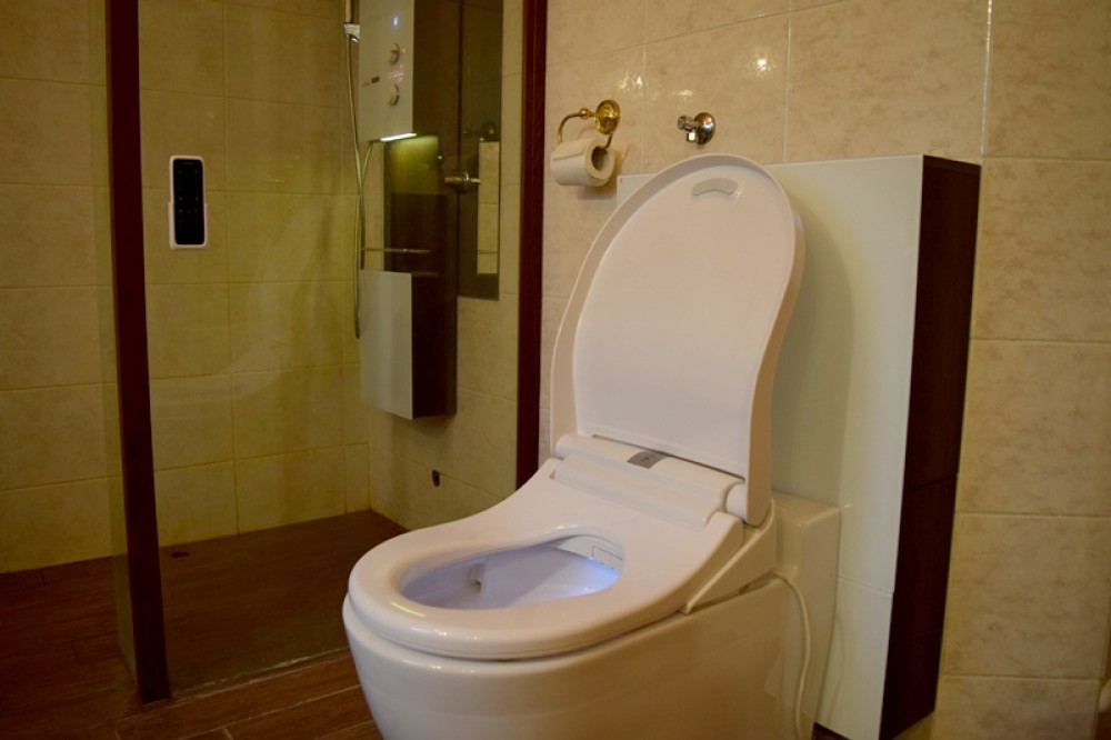 floor standing back to wall rimless toilet washlet maro di600