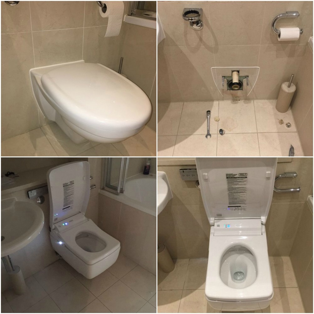 toto installation washlet sg ireland