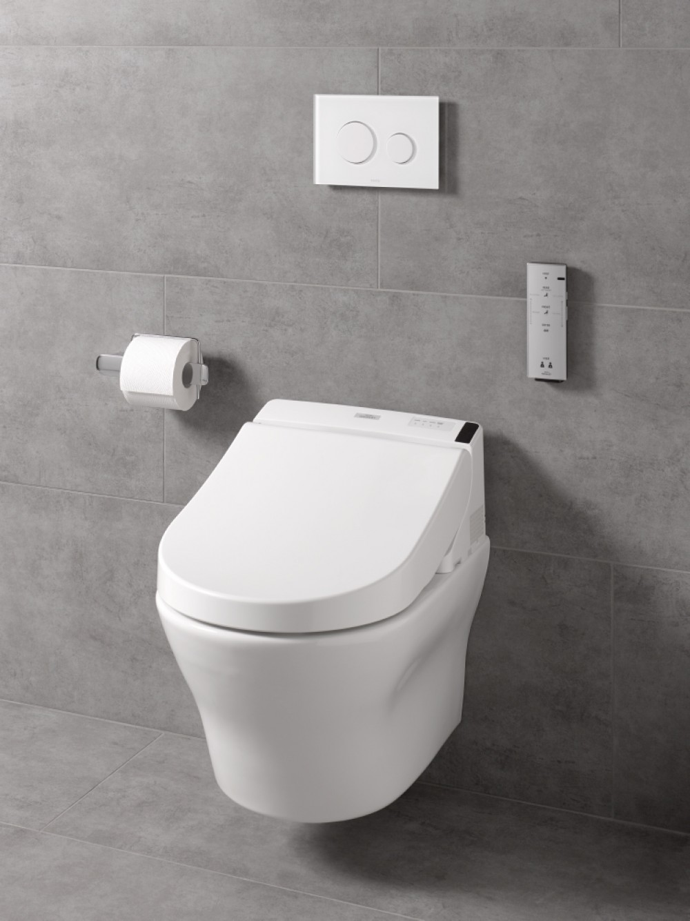 TOTO Washlet GL 2.0 hidden connections toto mh cw162yh