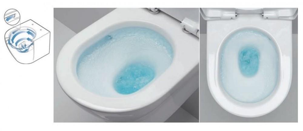 tornado flush toto toilets rimless