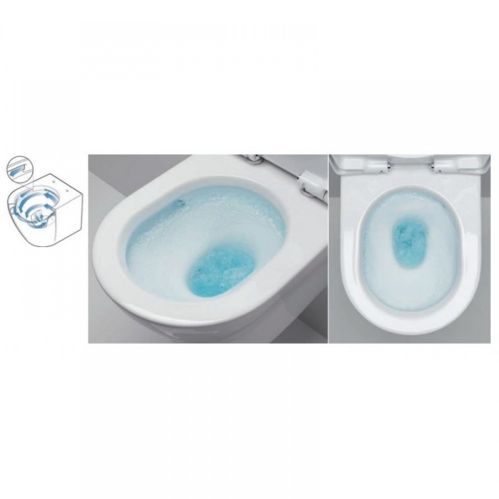 Complete set with Wall-hung toilet TOTO MH CW162Y at its core Tooaleta
