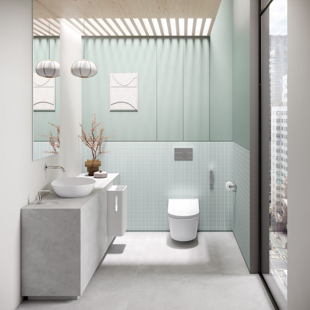toto washlet rw automatic flush smart toilet