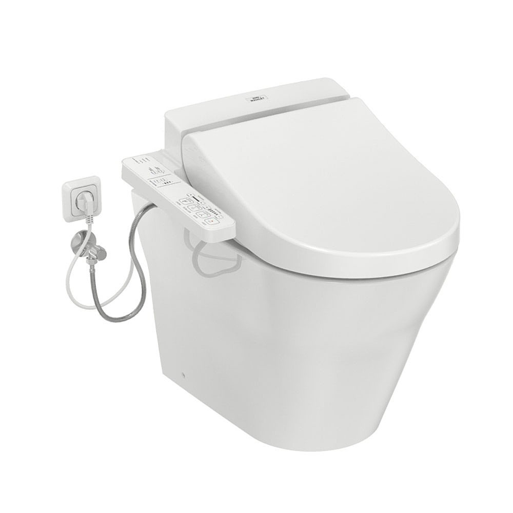 washlet ek 2.0 side connections toto wc mh back to wall