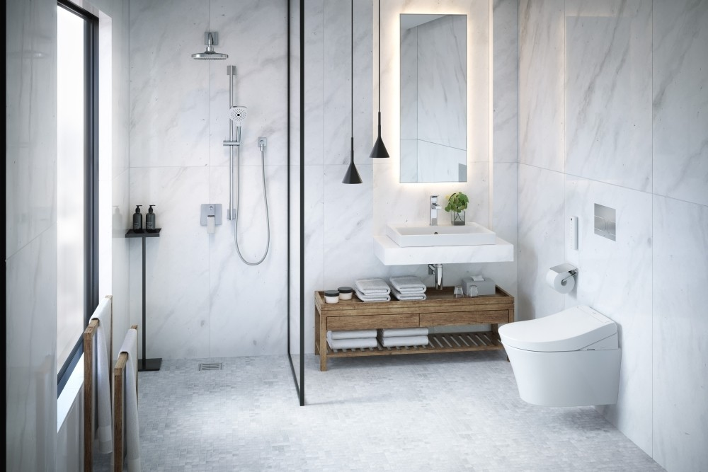 WASHLET™ RG LITE WITH SIDE CONNECTIONS