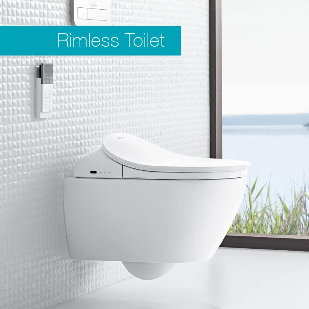 villeroy boch viclean l shower toilet combi pack tooaleta. Black Bedroom Furniture Sets. Home Design Ideas