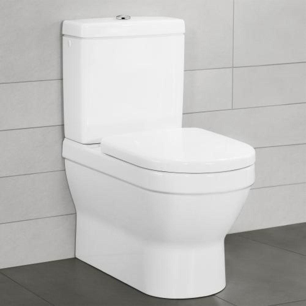 Toilet Villeroy En Boch.Villeroy Boch Architectura Close Coupled Washdown Toilet White