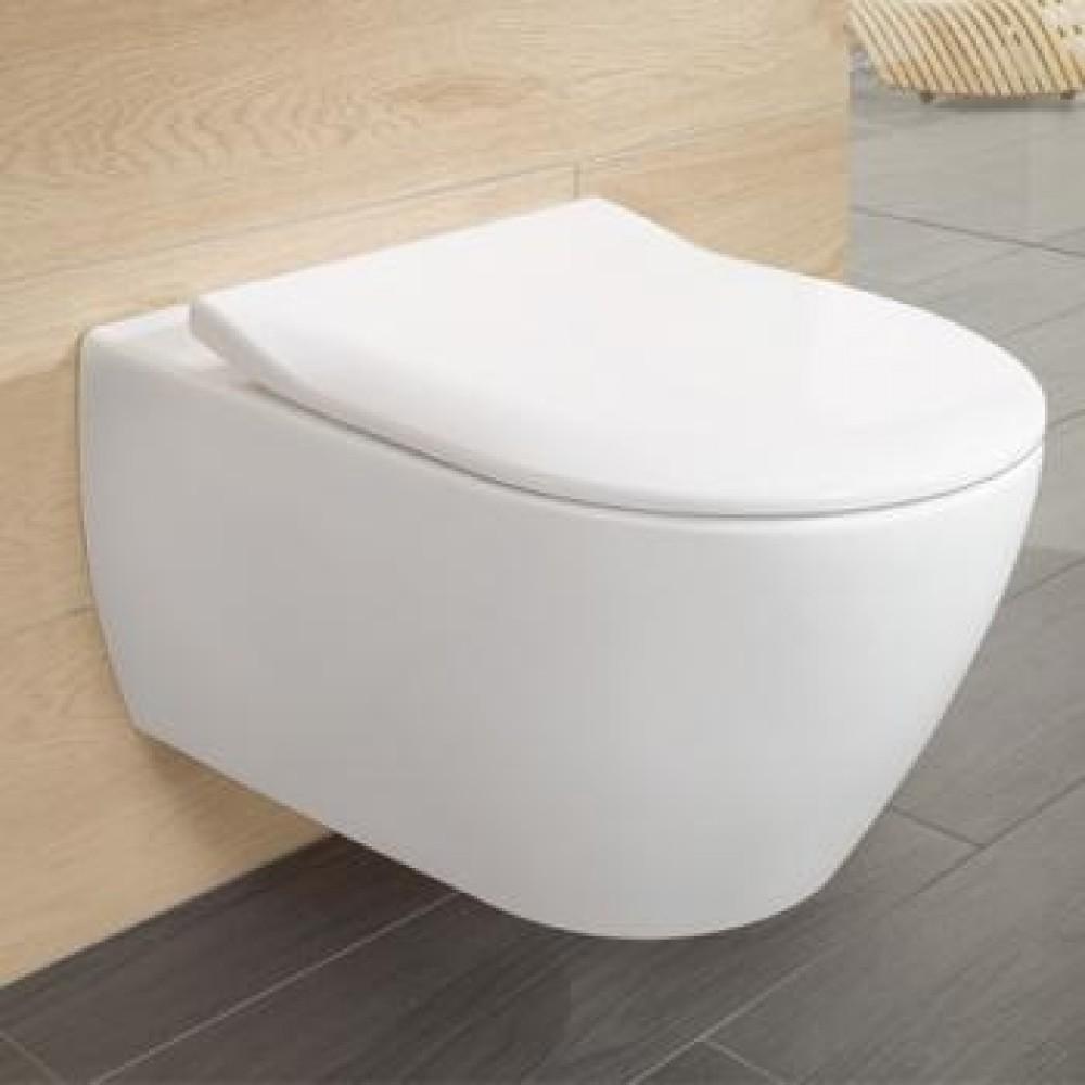 Villeroy Amp Boch Subway 2 0 Toilet Seat Slimseat White