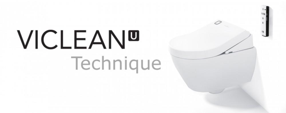 Villeroy & Boch ViClean-U Shower Toilet set combination