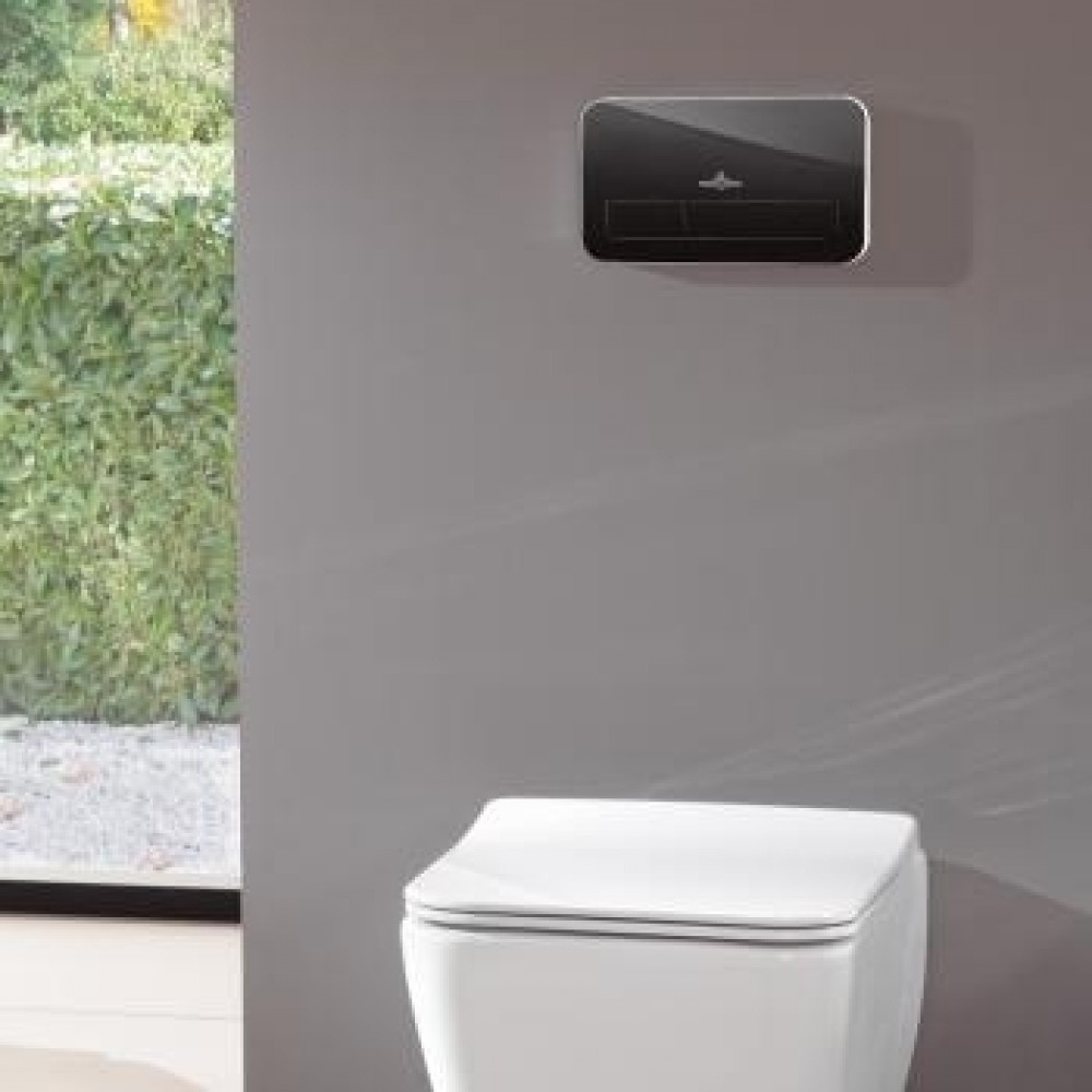 Villeroy & Boch ViConnect L200 Flush Plate With LED