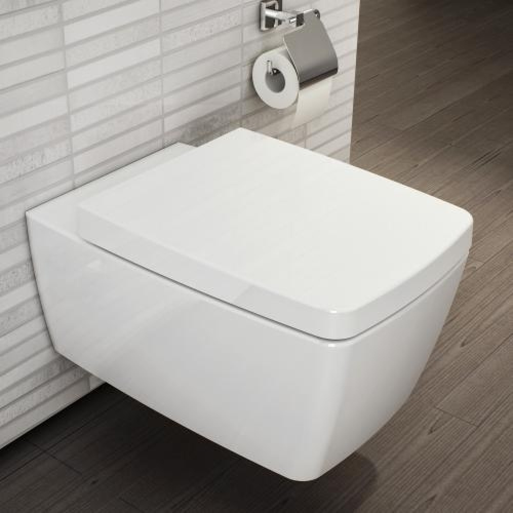 VitrA Metropole wall-mounted, washdown toilet with bidet function ...