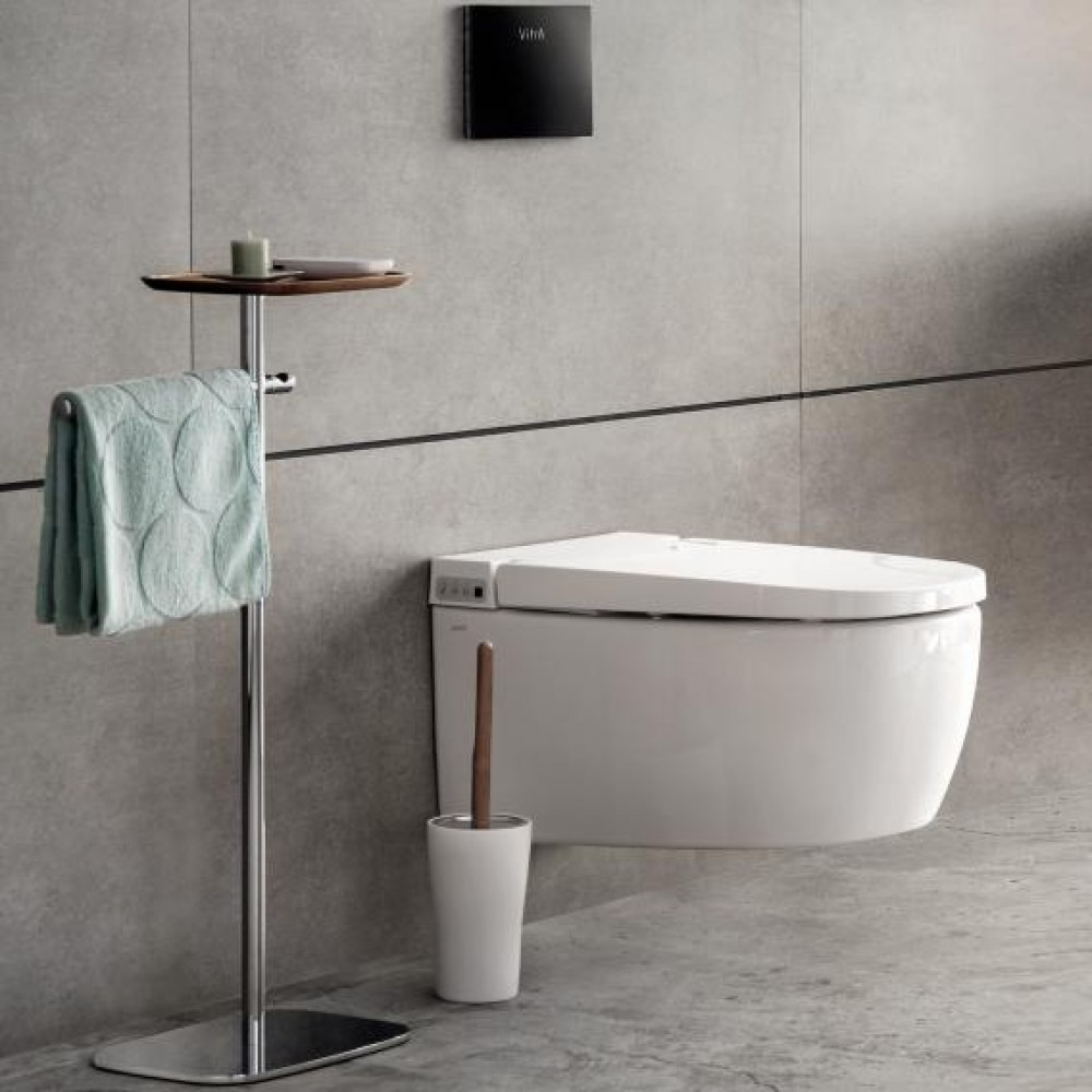 VitrA V-care 1.1 Basic shower toilet  accesability