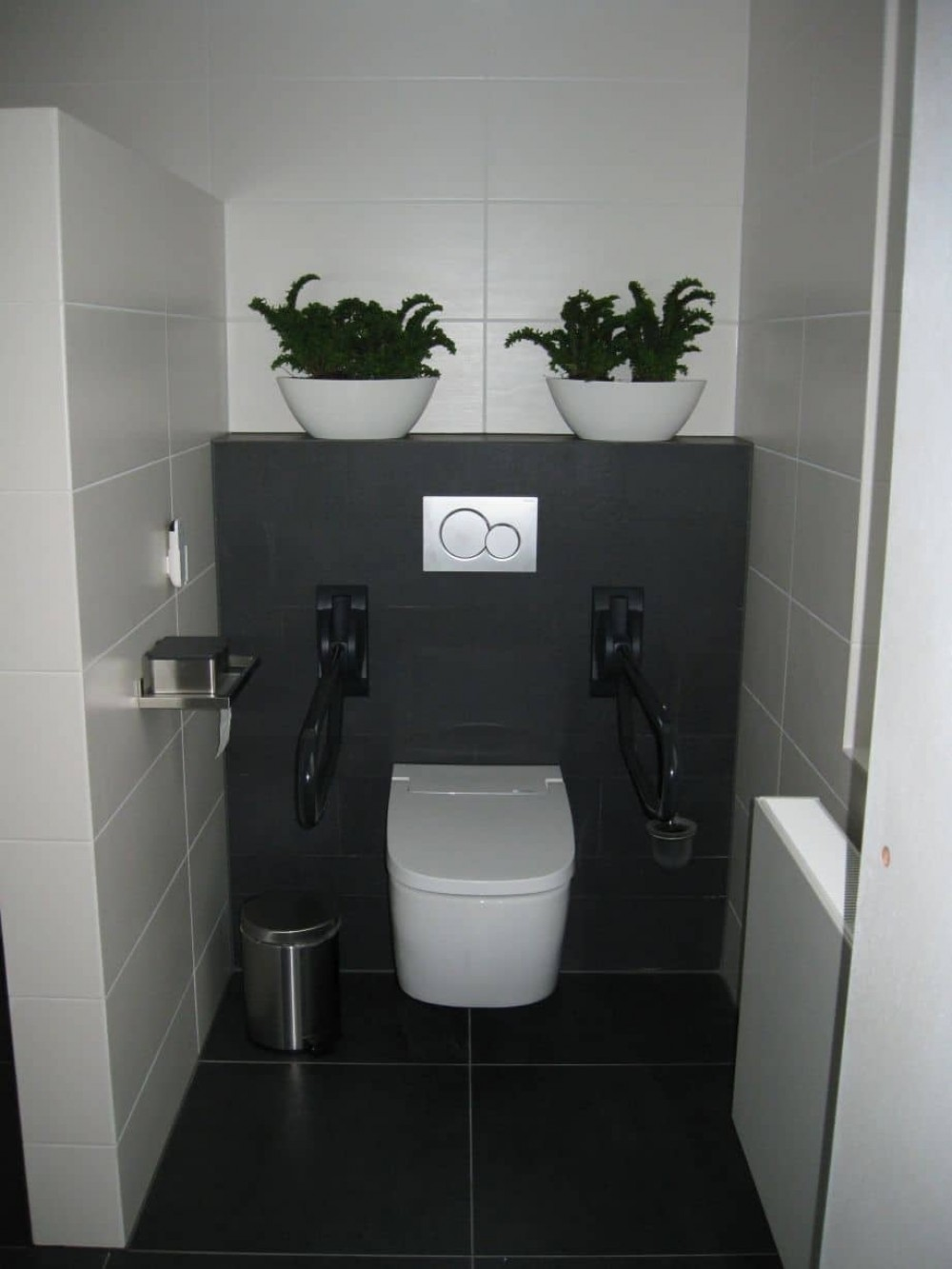 vitra v-care toilet bidet customer installation