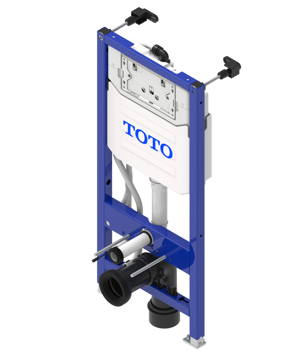 TOTO Frame system for WASHLET™ with automatic flush (WH182EAT)
