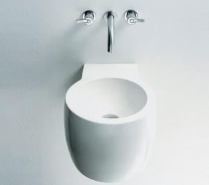 Agape CHEESE Washbasin in ceramic