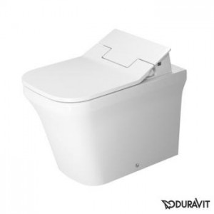 Duravit P3 Comforts floor-standing, washdown toilet Rimless with SensoWash® Slim