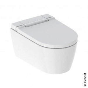 Geberit AquaClean Sela wall-mounted complete shower toilet system