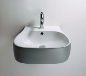 Agape PEAR Wall mounted washbasin