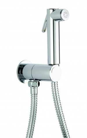Maro D'italia round safety closure with double shut-off shower set - SG430