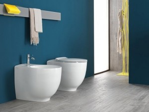 Hatria Le Fiabe back to wall rimless WC PURE RIM