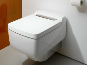 TOTO SG Series SG WC, wallhung CW512YR with SG WC SEAT TC501CVK