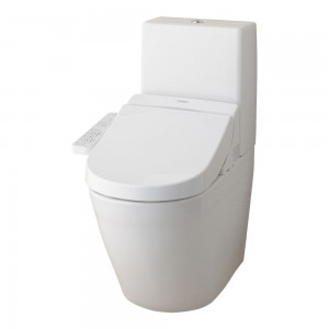combination toto washlet ek 2.0 close coupled rimless one piece toilet pan