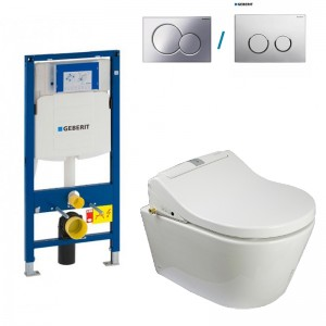 toilet shower bidet geberit toto
