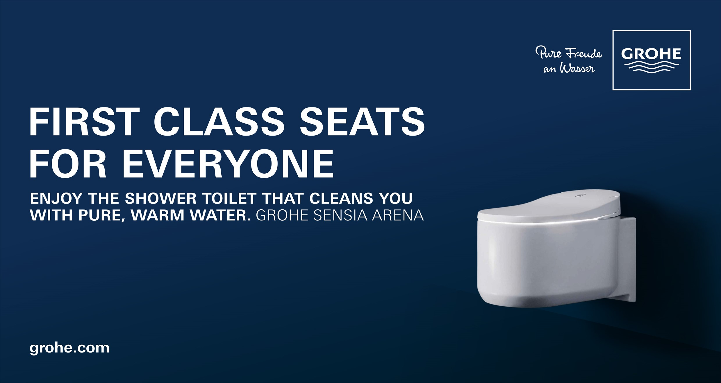 GROHE LAUNCHES SHOWER TOILET CAMPAIGN AT INTERNATIONAL AIRPORTS Tooaleta