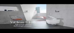 Villeroy & Boch ViClean I 100  Shower toilet set (Available from Mid 2018)