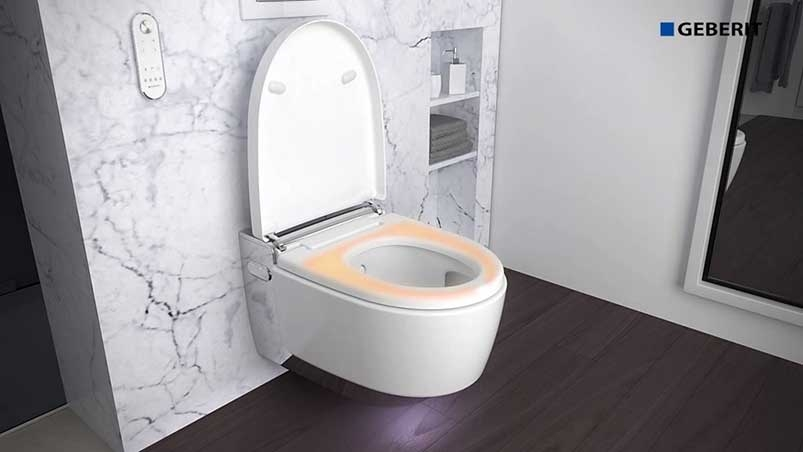 GEBERIT AQUACLEAN SHOWER TOILET