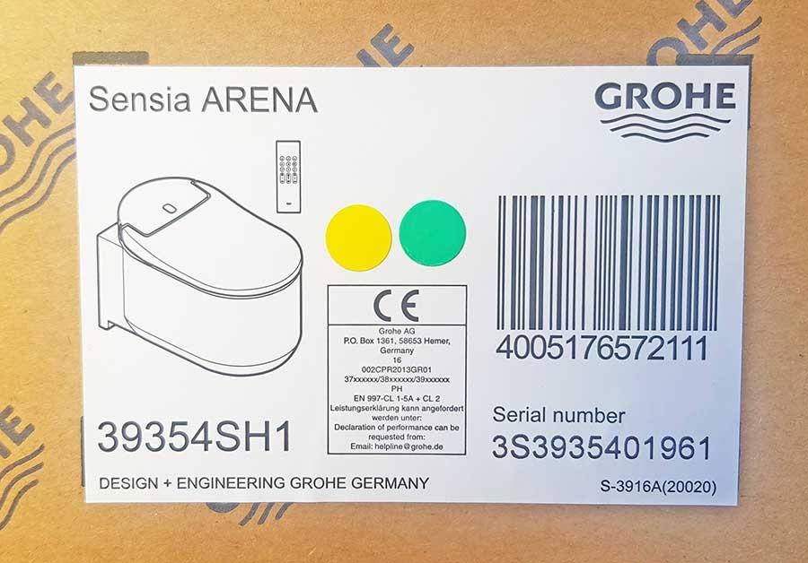 NEW 2020 GROHE SENSIA ARENA