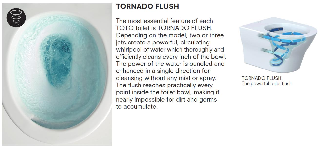 tornado flush toilett